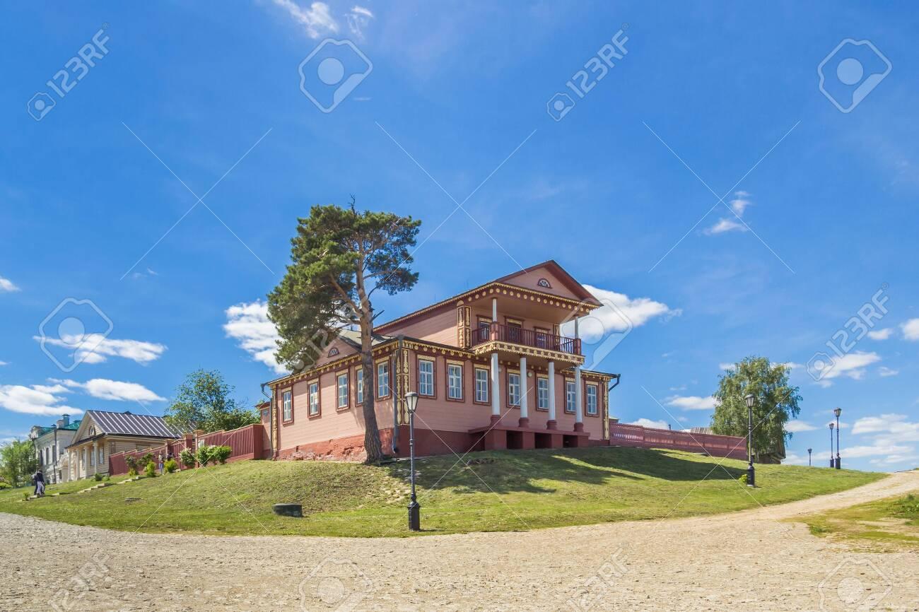 Civil War Museum in Sviyazhsk in summer, Tatarstan - 144546233