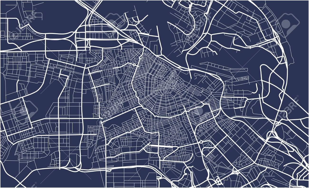 City Map of Amsterdam, Netherlands - 85116716