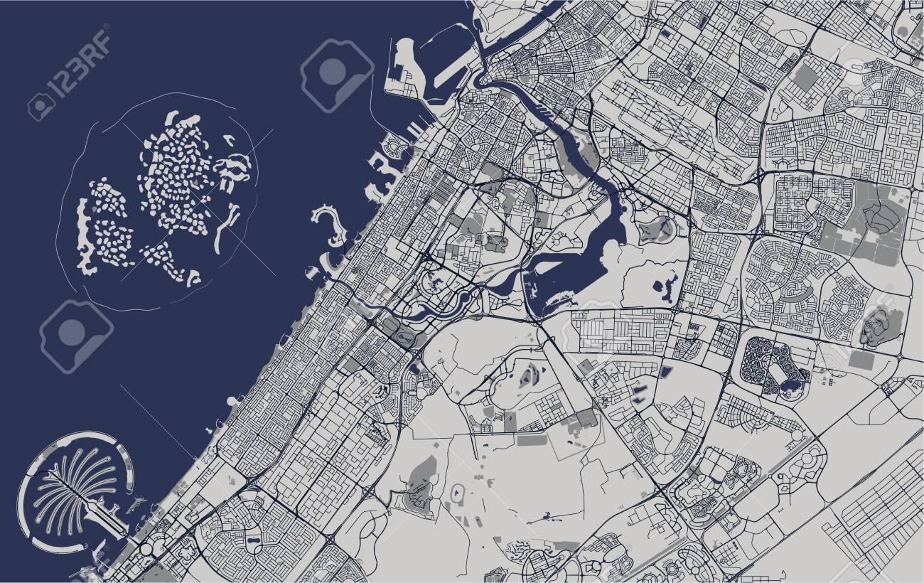 vector map of the city of Dubai, United Arab Emirates (UAE),.. on world map nicaragua, world map osaka japan, world map new zealand, world map austria, world map england, world map istanbul turkey, world map luxembourg, world map hanoi vietnam, world map switzerland, world map italy, world map venezuela, world map croatia, world map australia, world map south africa, world map brazil, world map shanghai china, world map prague czech republic, world map mexico, world map sri lanka, world map wales,