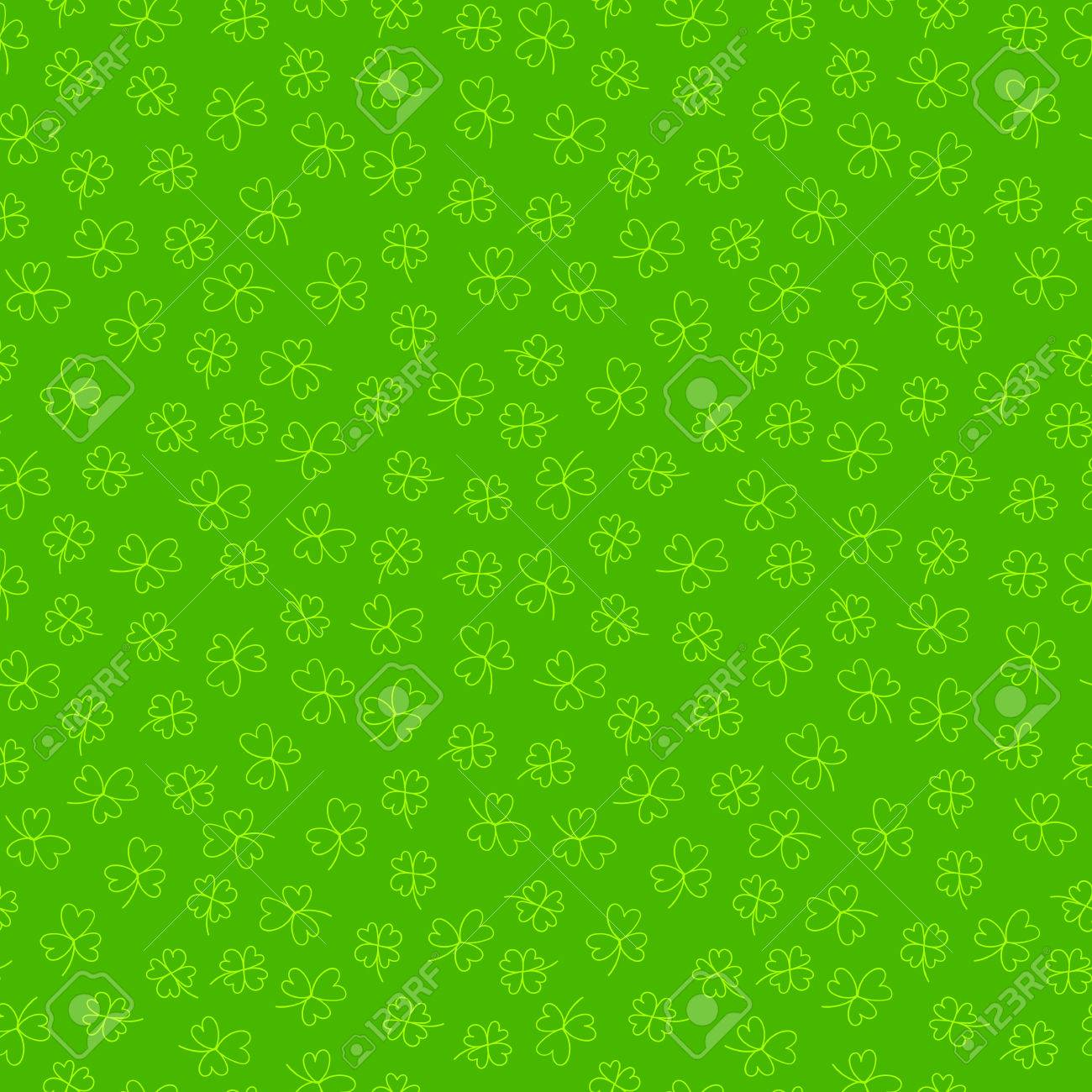 Pattern Seamless Wallpaper For The Holiday St Patrick S Day