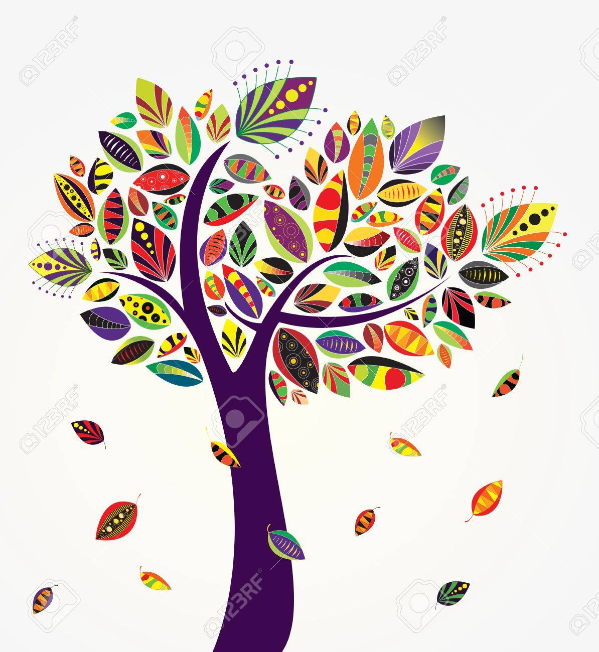 Vector cute tree Stock Vector - 16554054