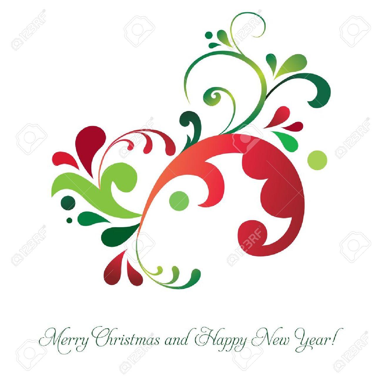 Vector beautiful Christmas invitation card Stock Vector - 16553965