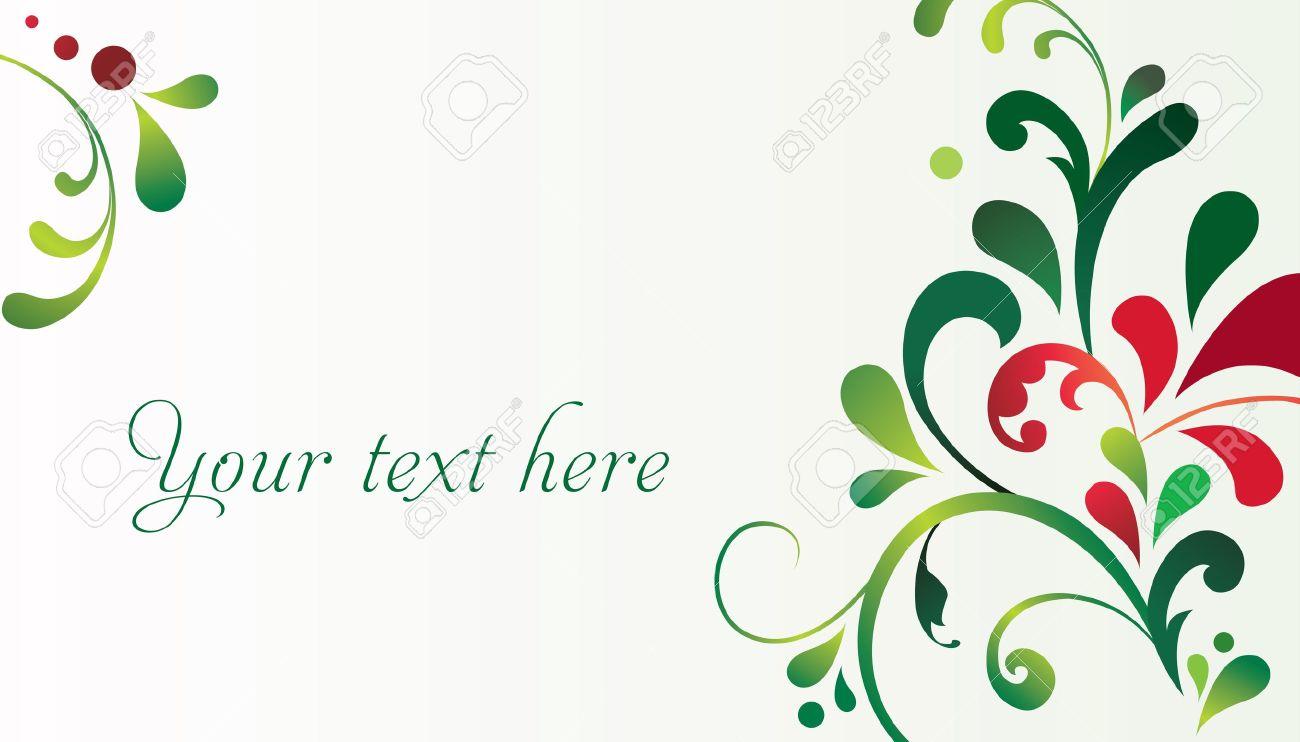 foto de archivo vector decorativo elegante tarjeta de navidad