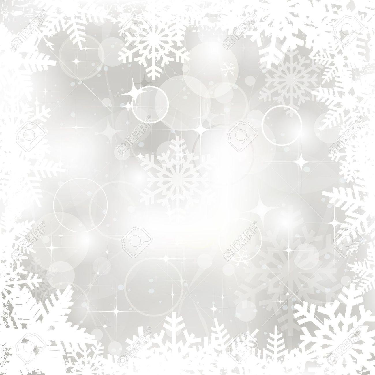 Vector glittering silver Christmas background Stock Vector - 16554106
