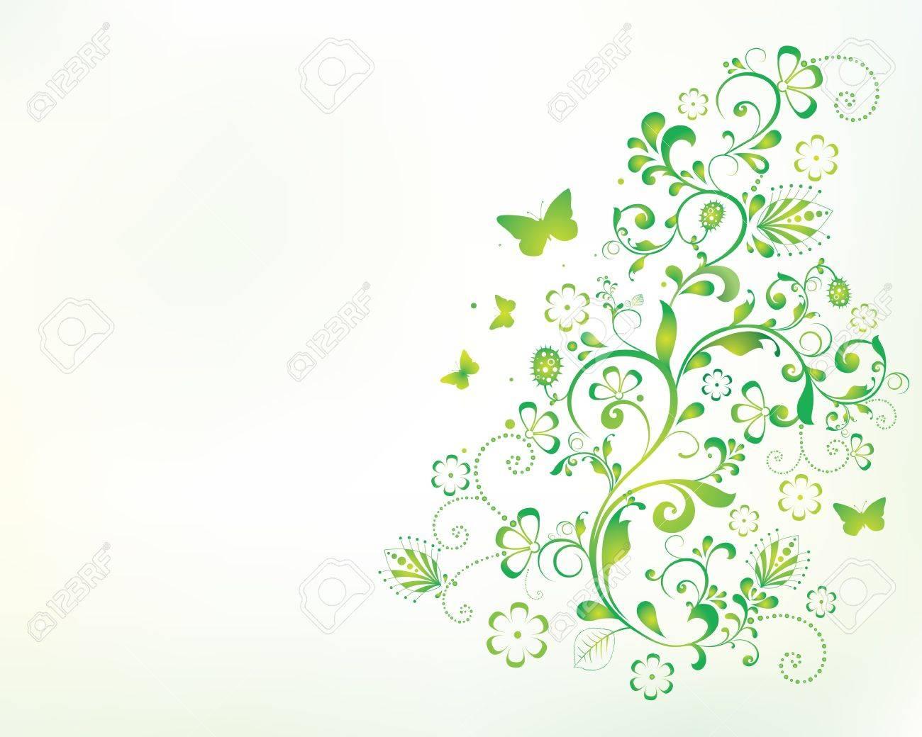 美しい花の背景イラストですのイラスト素材ベクタ Image 17753414