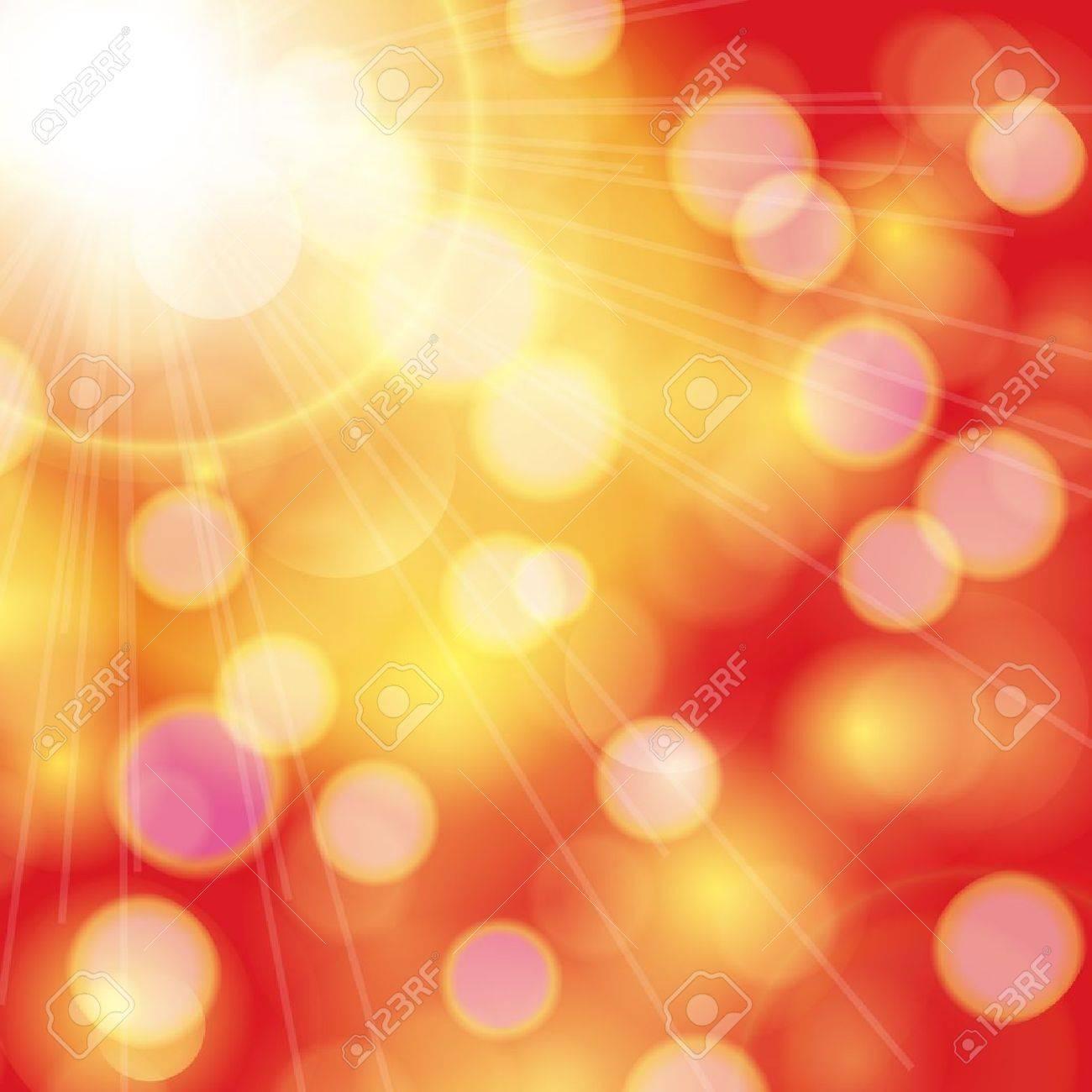 Sunny summer background Stock Vector - 20507153