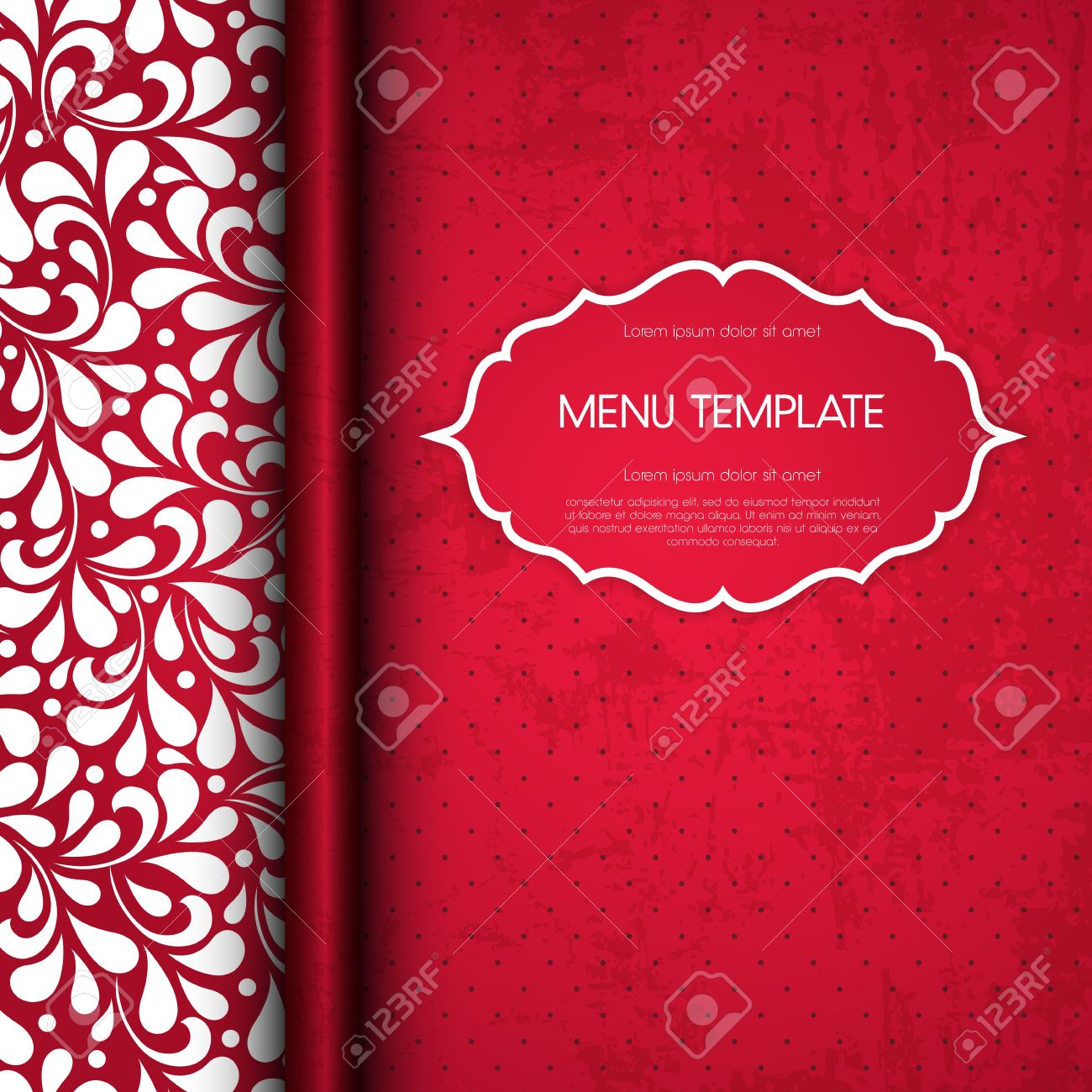 restaurant menu cover design royalty free cliparts, vectors, and