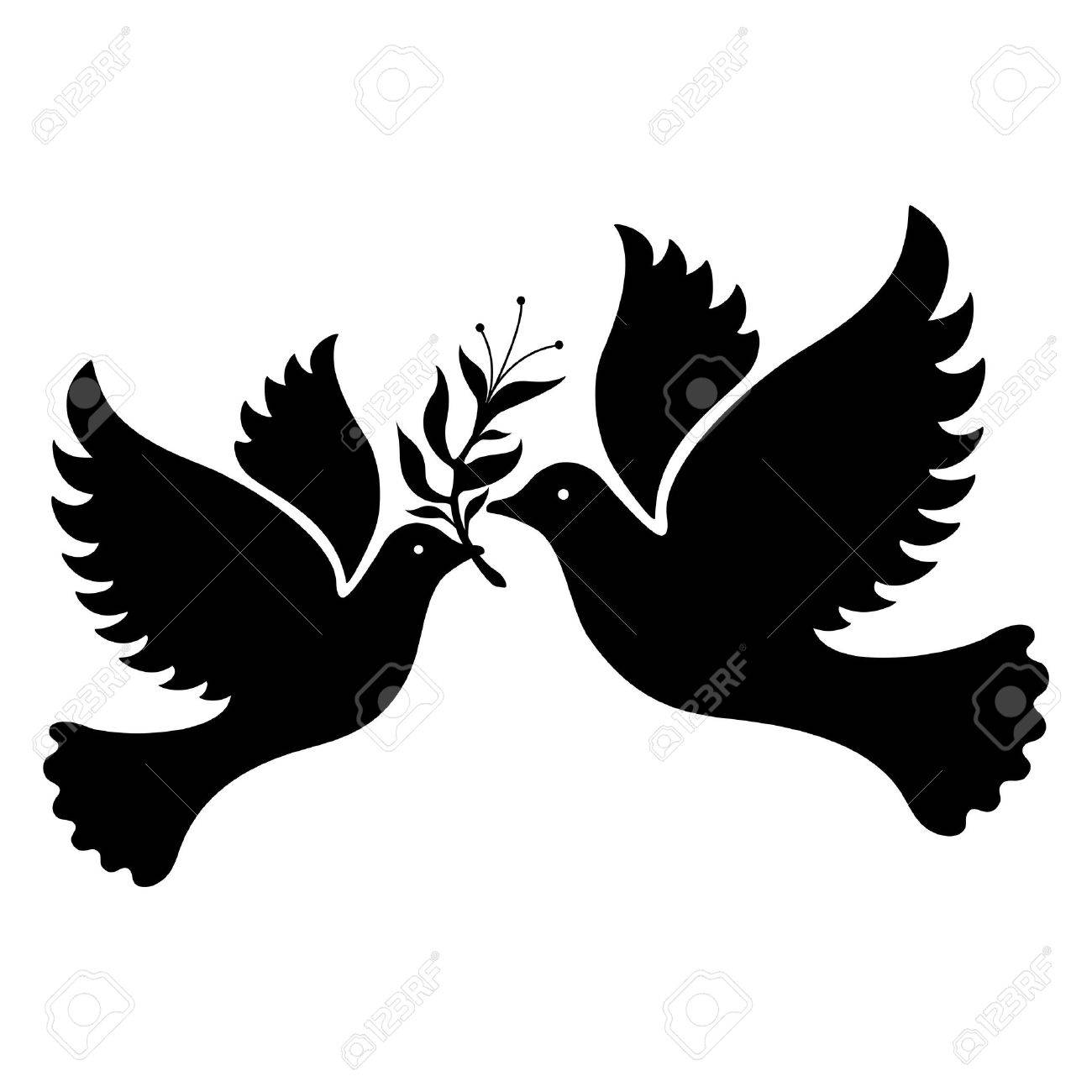 a free flying white dove symbol royalty free cliparts vectors and rh 123rf com Holy Spirit Dove Symbol Dove Symbol of Love