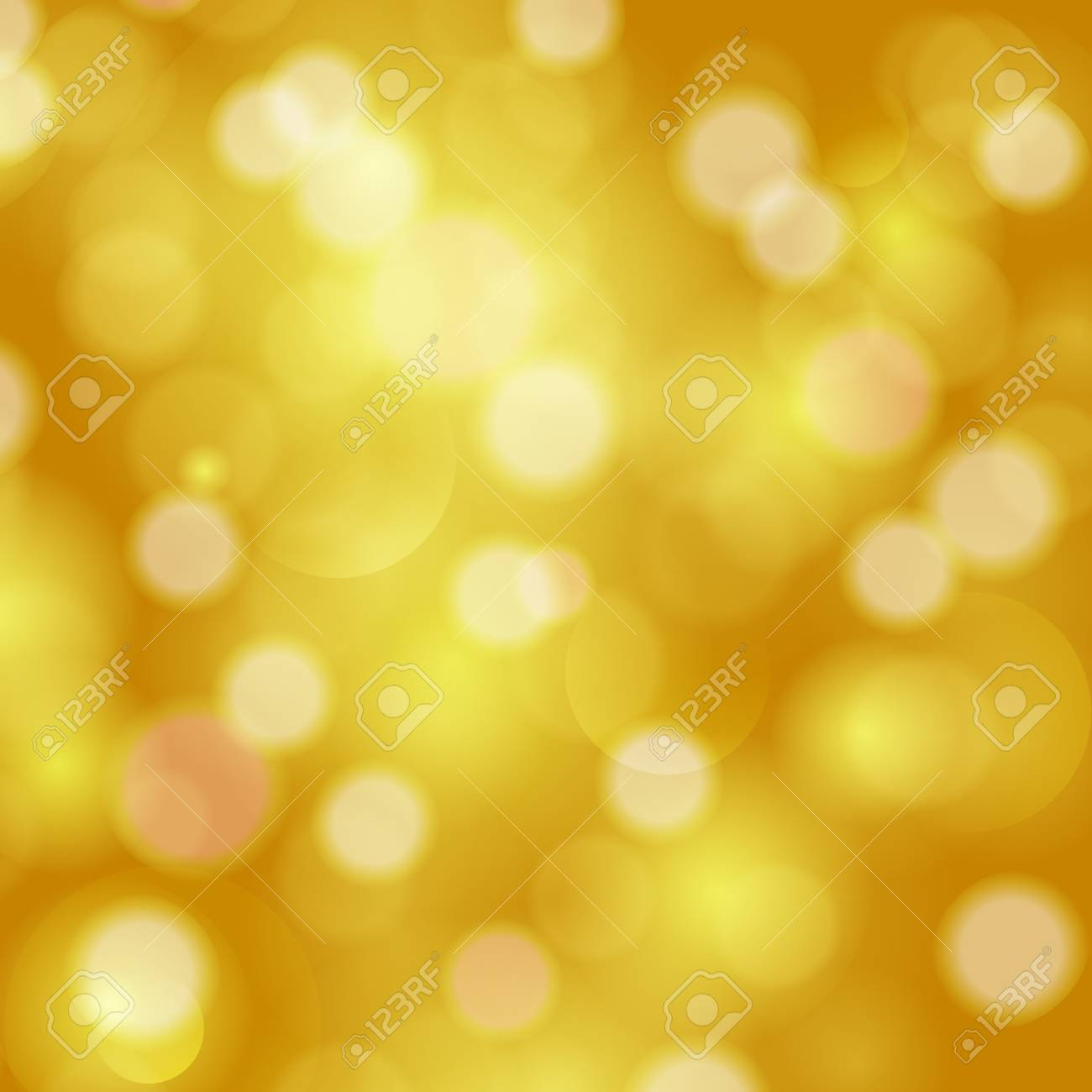 Glittery lights golden abstract festive background Stock Vector - 20753236