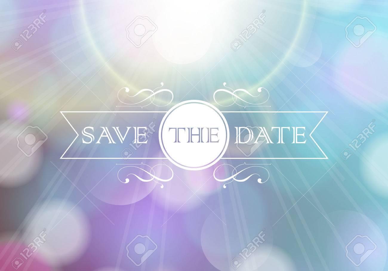 Invitation card   Perfect as invitation or announcement Stock Vector - 22489222