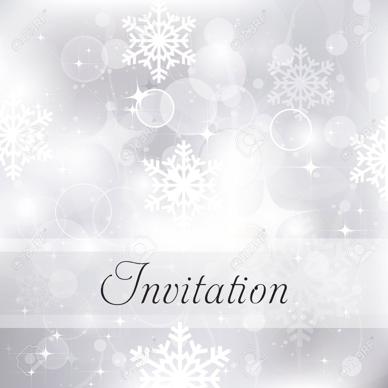 Glittery silver christmas invitation background royalty free glittery silver christmas invitation background stock vector 29826252 stopboris Image collections