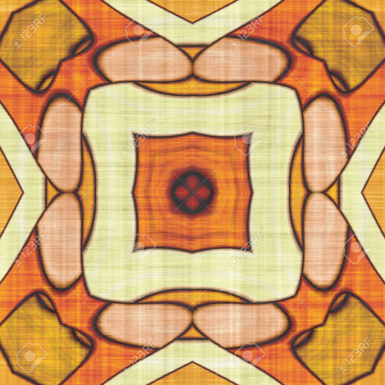 Sacred Geometry- Ornament Mosaic. Mandala- Artistic Illustration ...