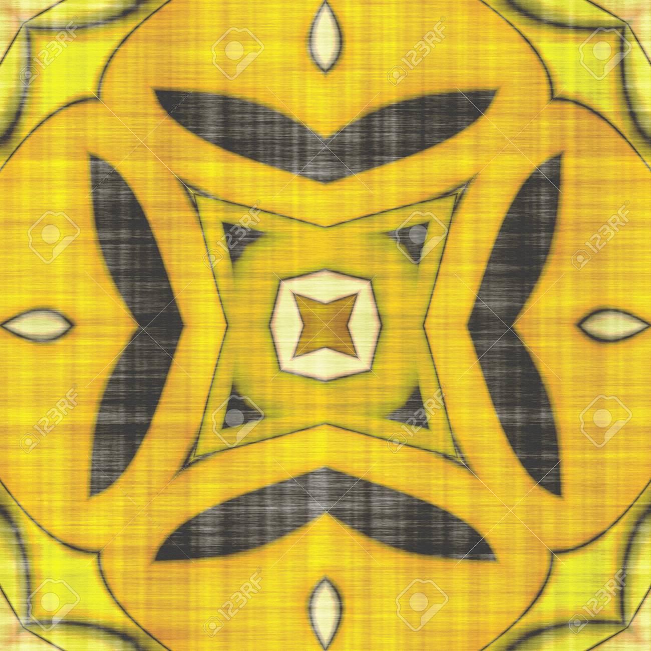 Abstract Kaleidoscope- Wall Decor. Mandala- Artistic Illustration ...