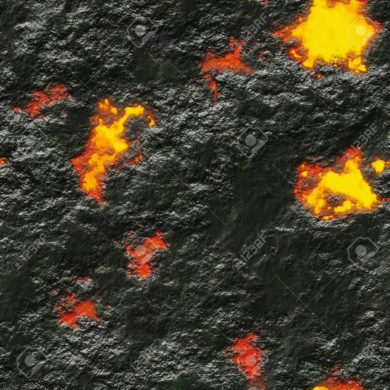 Molten Metal Texture