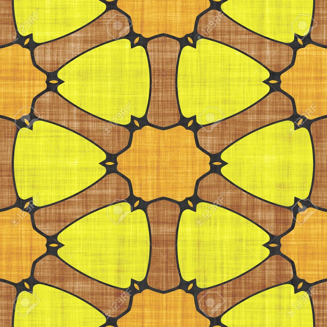 Cloth Textile- Fabric Pattern. Sacred Ornament- Mosaic Ancient ...