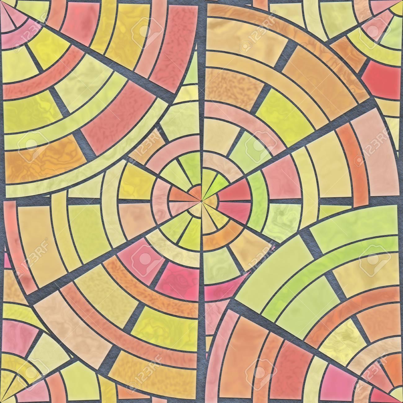 Ancient Geometrics- Stones And Marble. Home Decor: Mosaic Floor ...