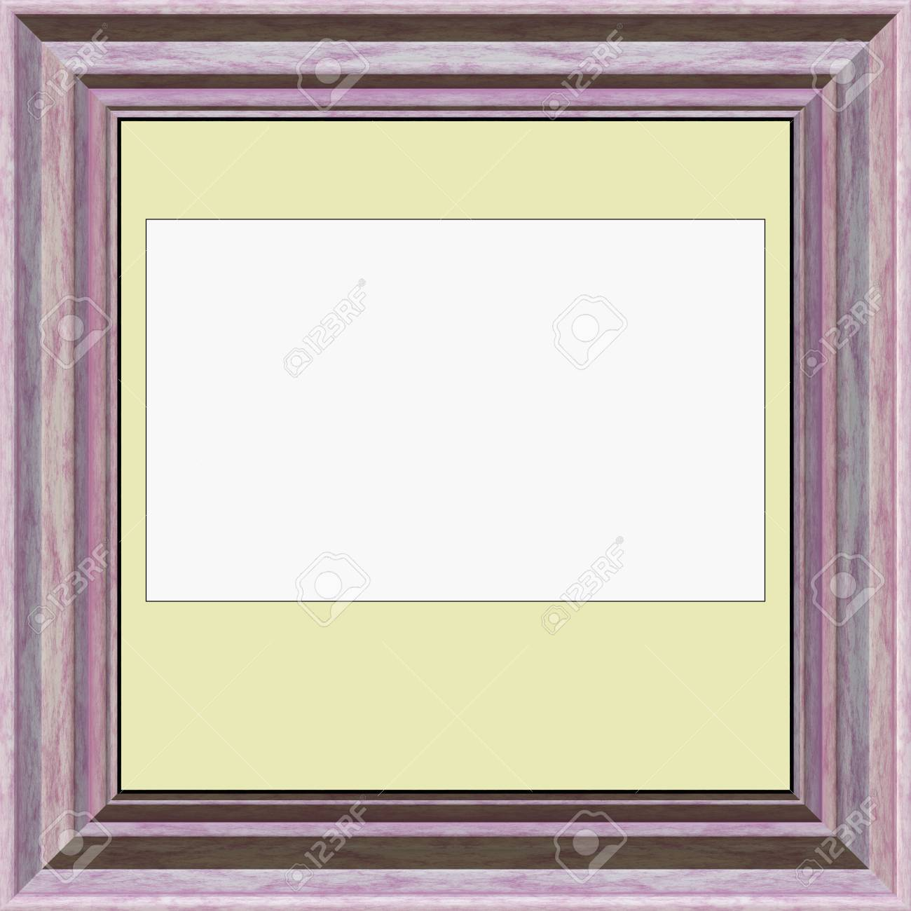 Blank Picture- Vintage Frame. Abstract Wall Decor Interior ...