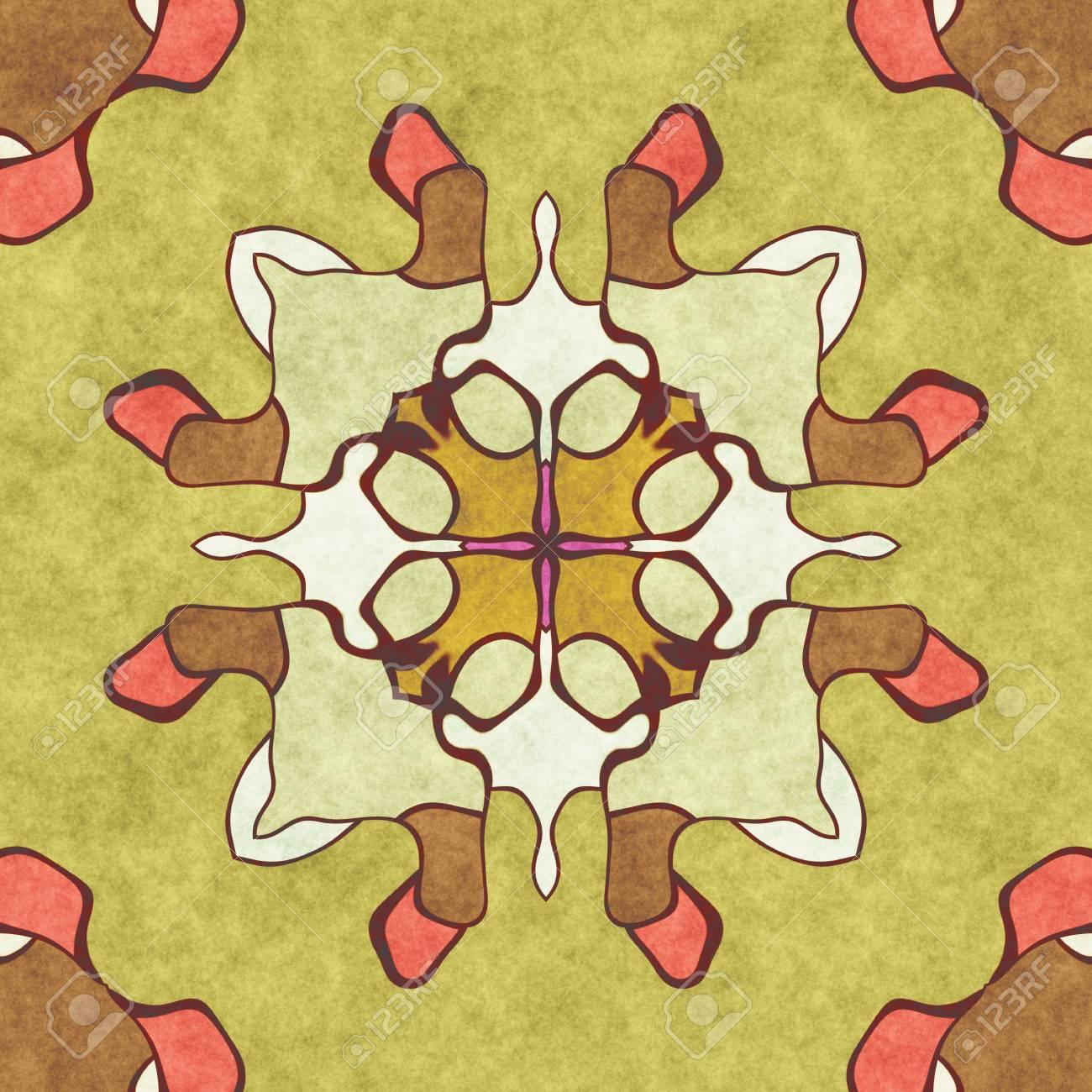 Ornament Home Decor- Sacred Geometry. Ornate- Art Illustration ...