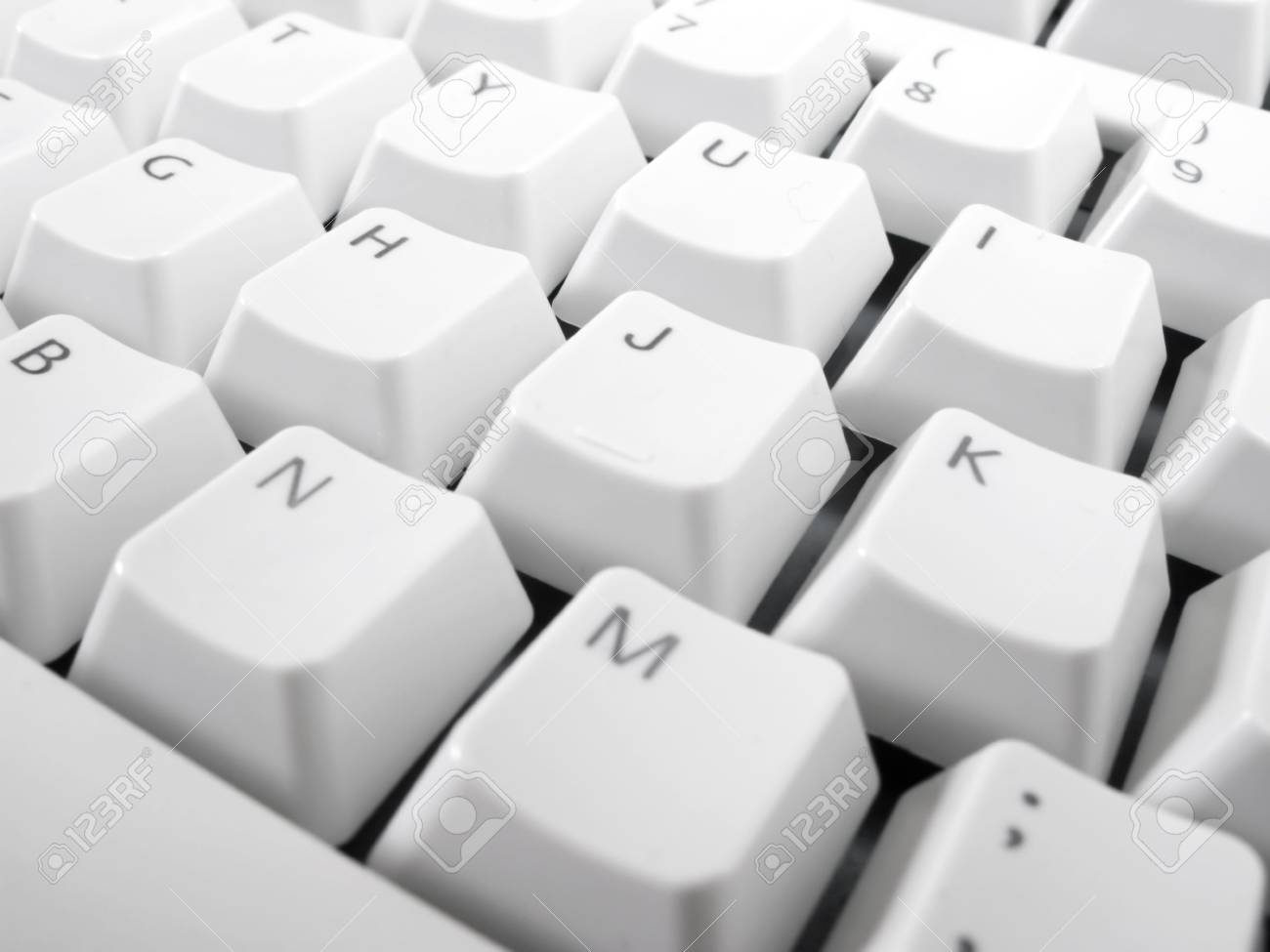 Macro shot of computer keyboard. Stock Photo - 3379540
