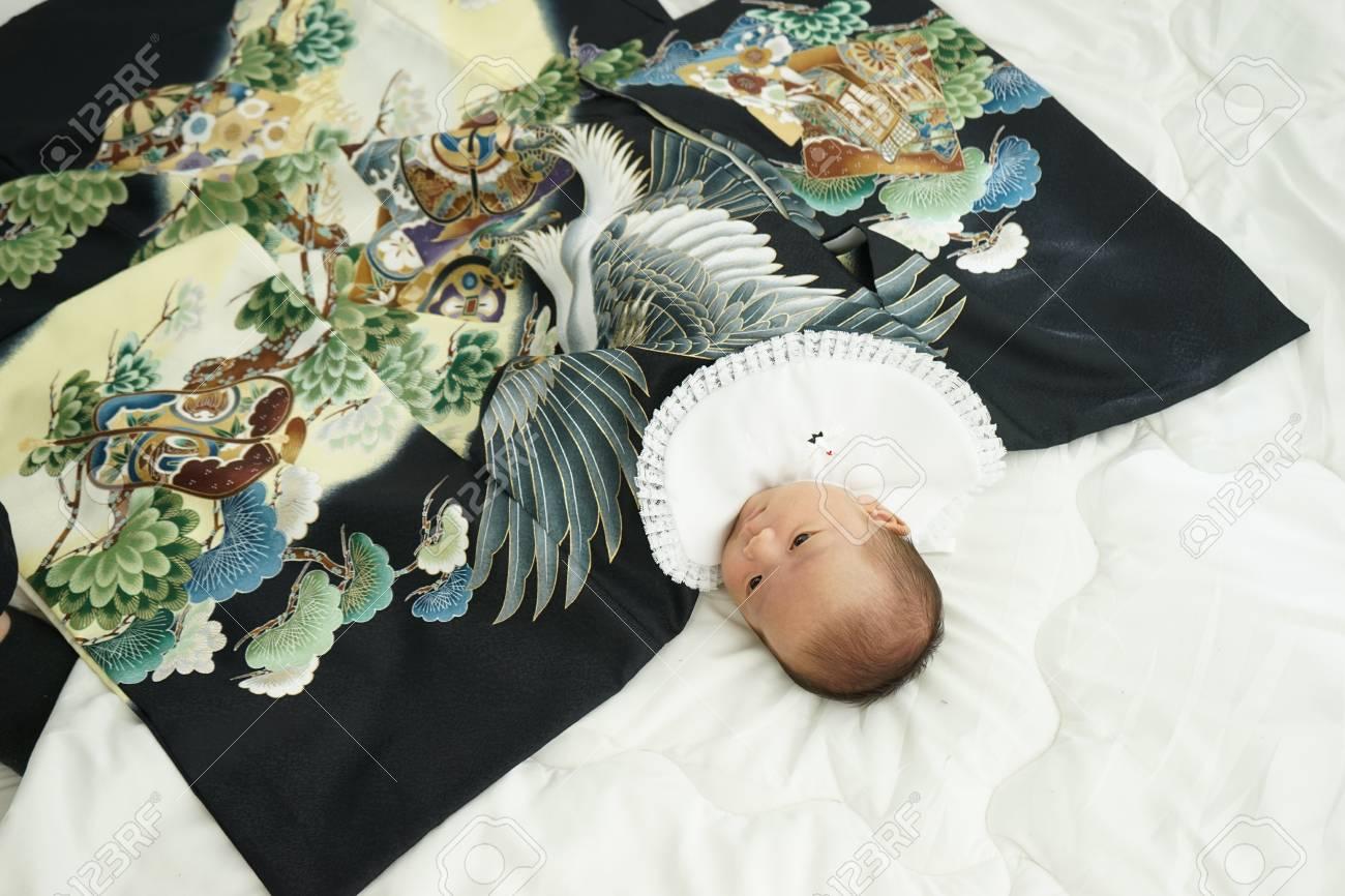 miyamairi japanese celebration for baby - 92743046