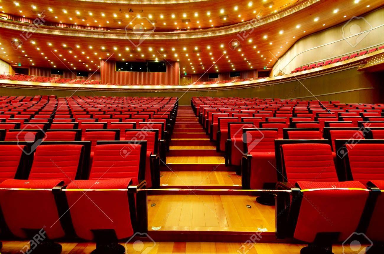 China National Grand Theater interior (in Beijing) Stock Photo - 6076975