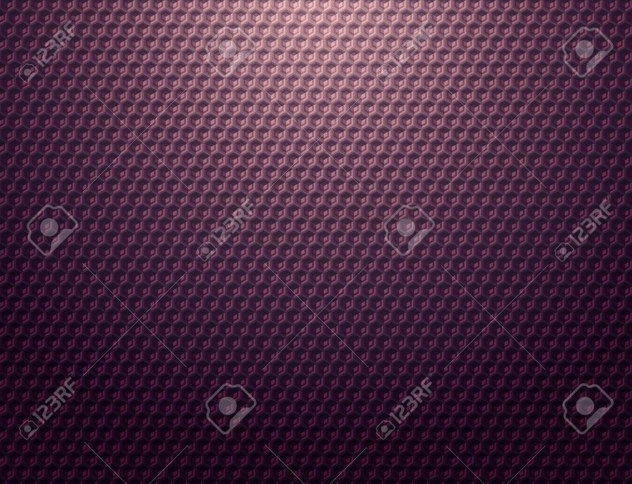 Dark Purple Metal Grid Pattern Wallpaper Stock Photo