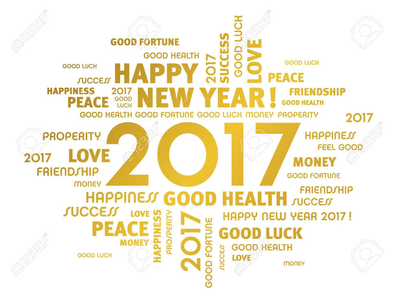 Gold greeting words around 2017 year type isolated on white royalty gold greeting words around 2017 year type isolated on white stock vector 63886268 m4hsunfo