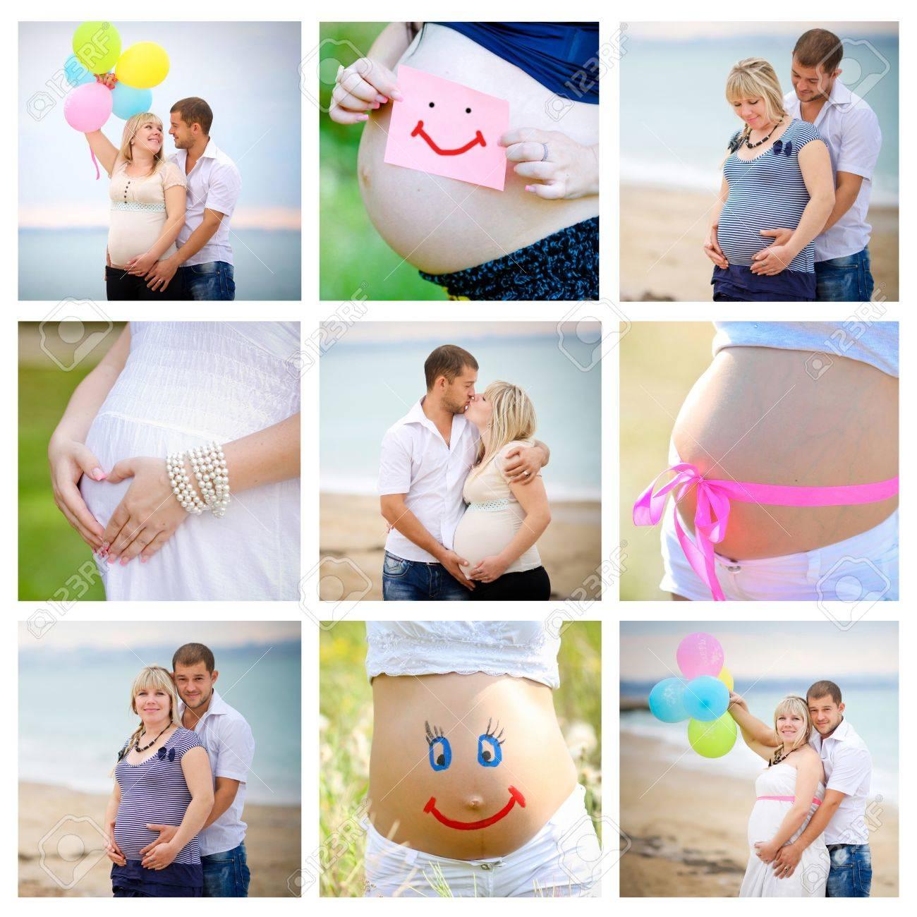 Интересные идеи для фотосессии беременных по месяцам фото живота