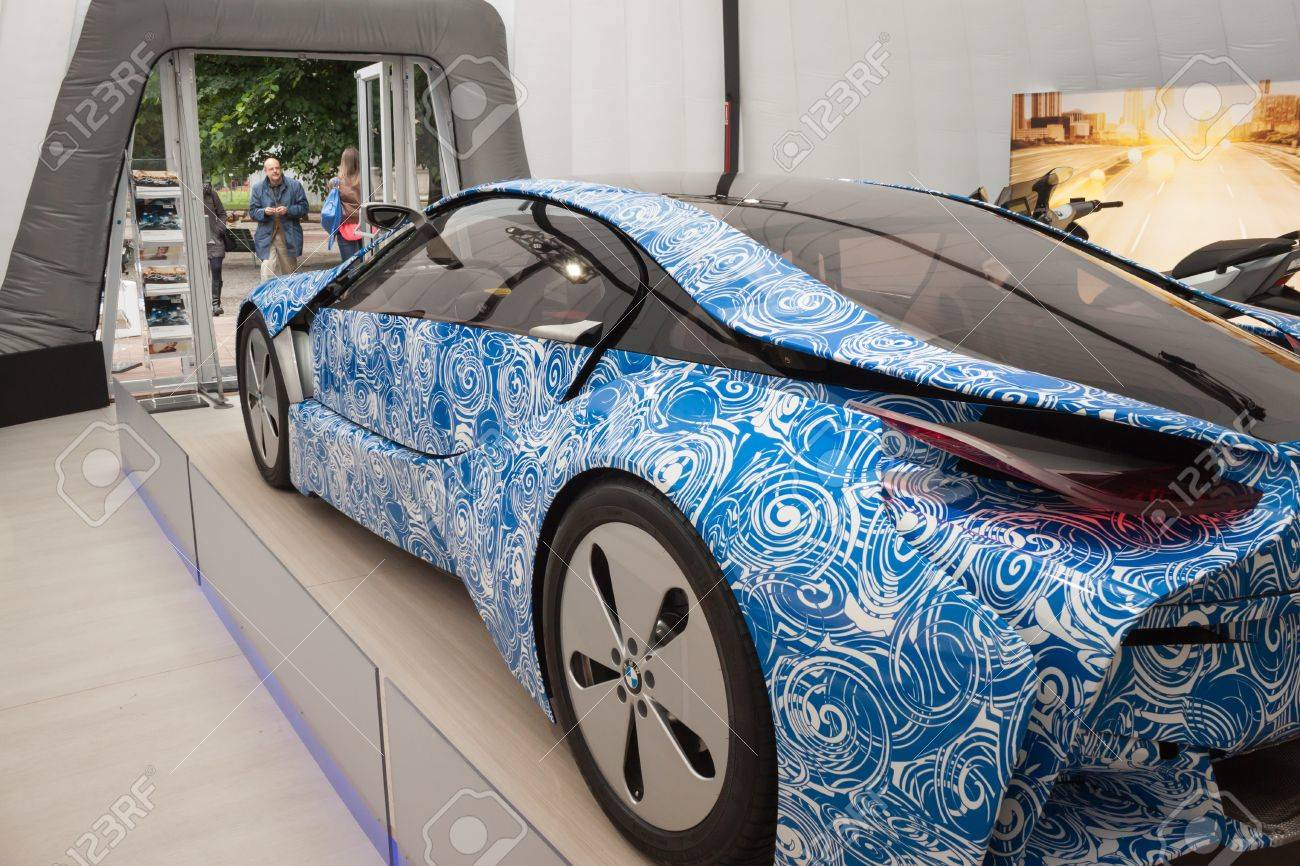 MILAN, ITALY - JUNE 1: Presentation Of BMW I8 Prototype At Wired ...