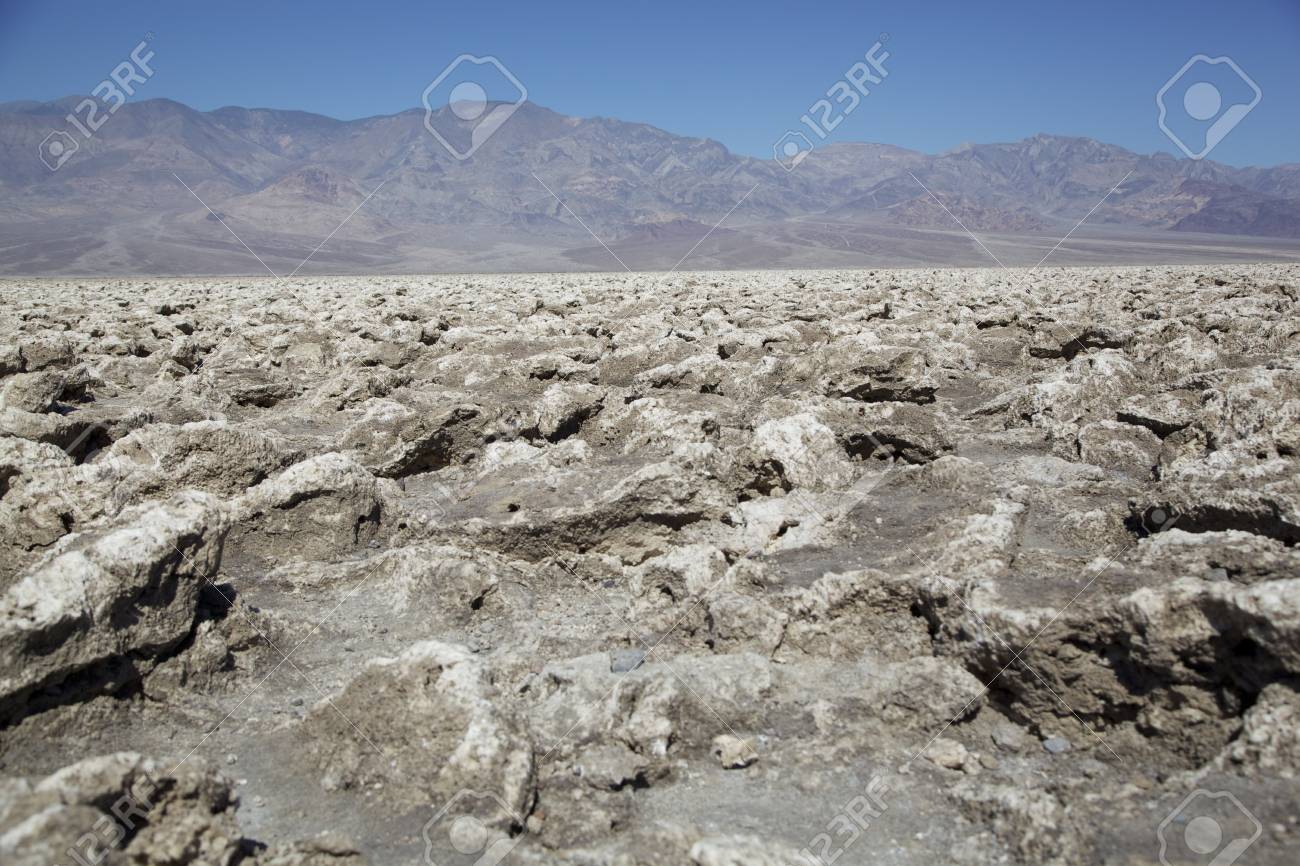 Devil s Golf Course, Death Valley National Park, USA Stock Photo - 14774197