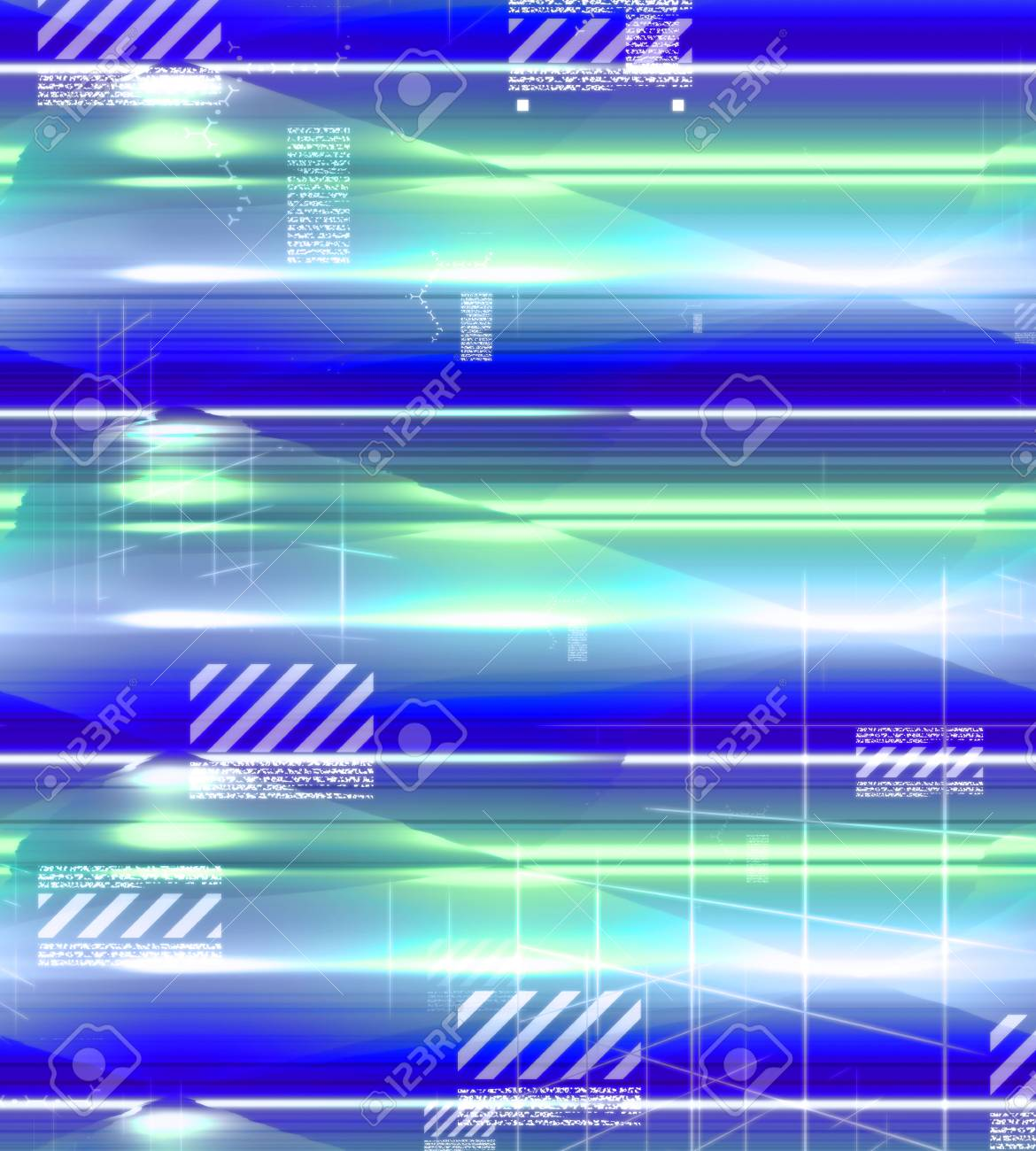 Glowing Background Colorful Blue Green White Abstract Wallpaper