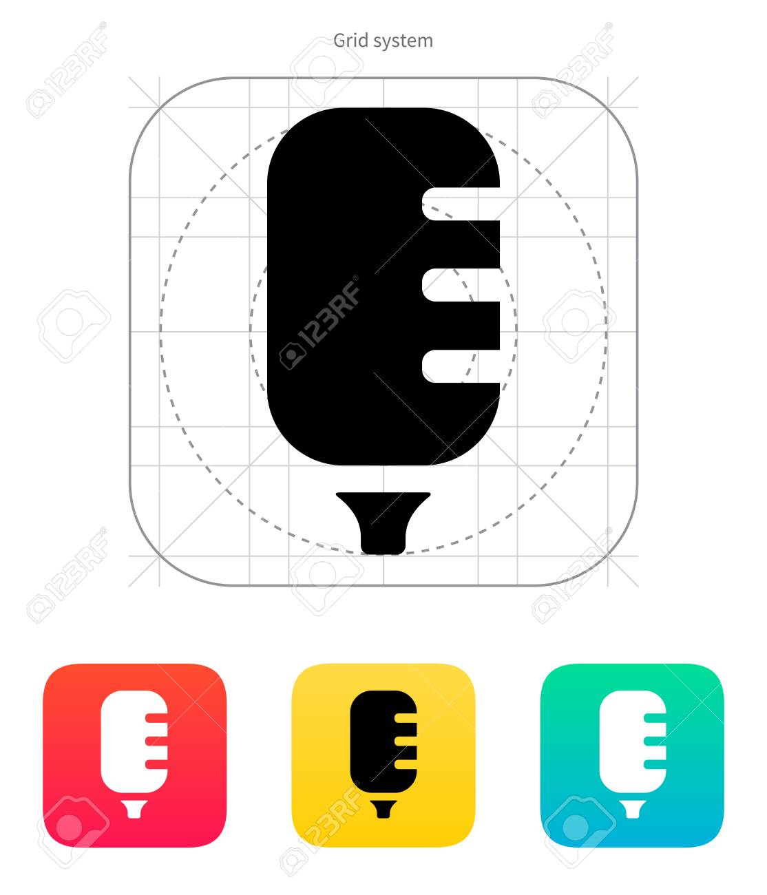 Studio microphone icon vector illustration royalty free cliparts studio microphone icon vector illustration stock vector 22784596 ccuart Images