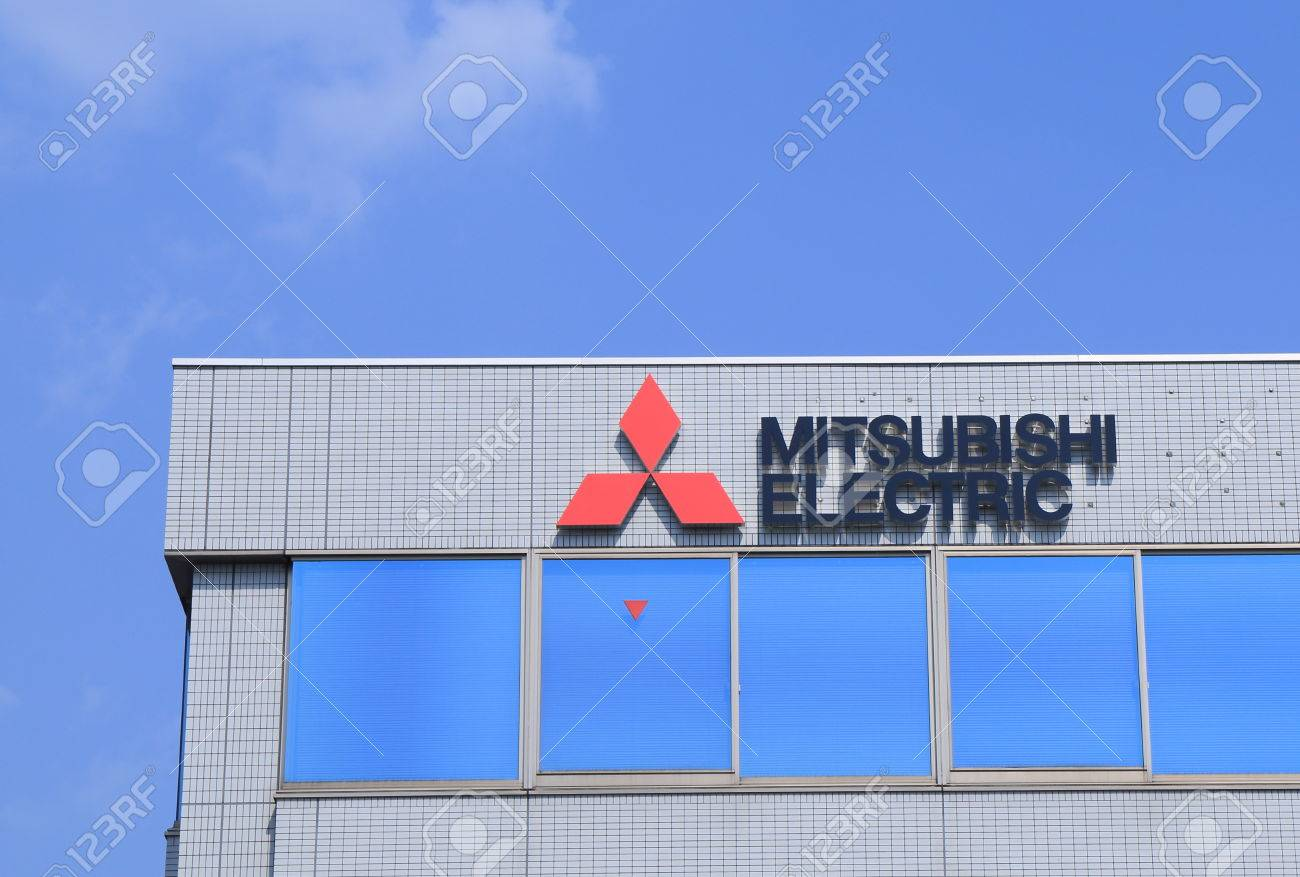 Nagoya Japan - 31 May, 2014 Mitsubishi Electric, Japanese ...