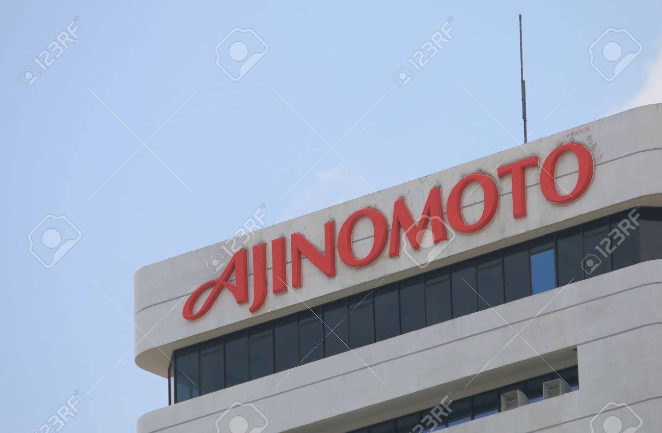 Bangkok Thailand April 19 2015: Ajinomoto Japanese food and
