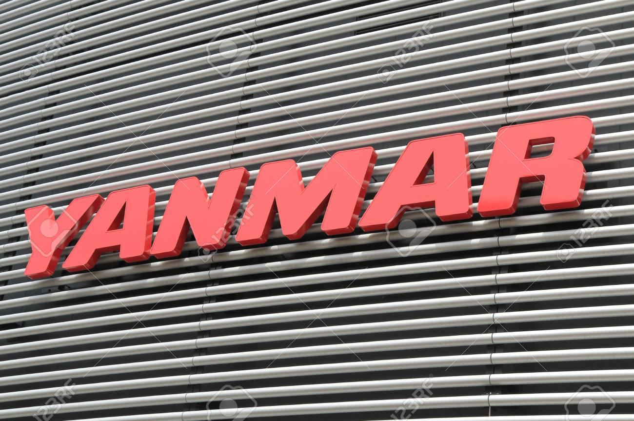 Osaka Japan - April 24, 2015: Yanmar Company, Japanese Diesel