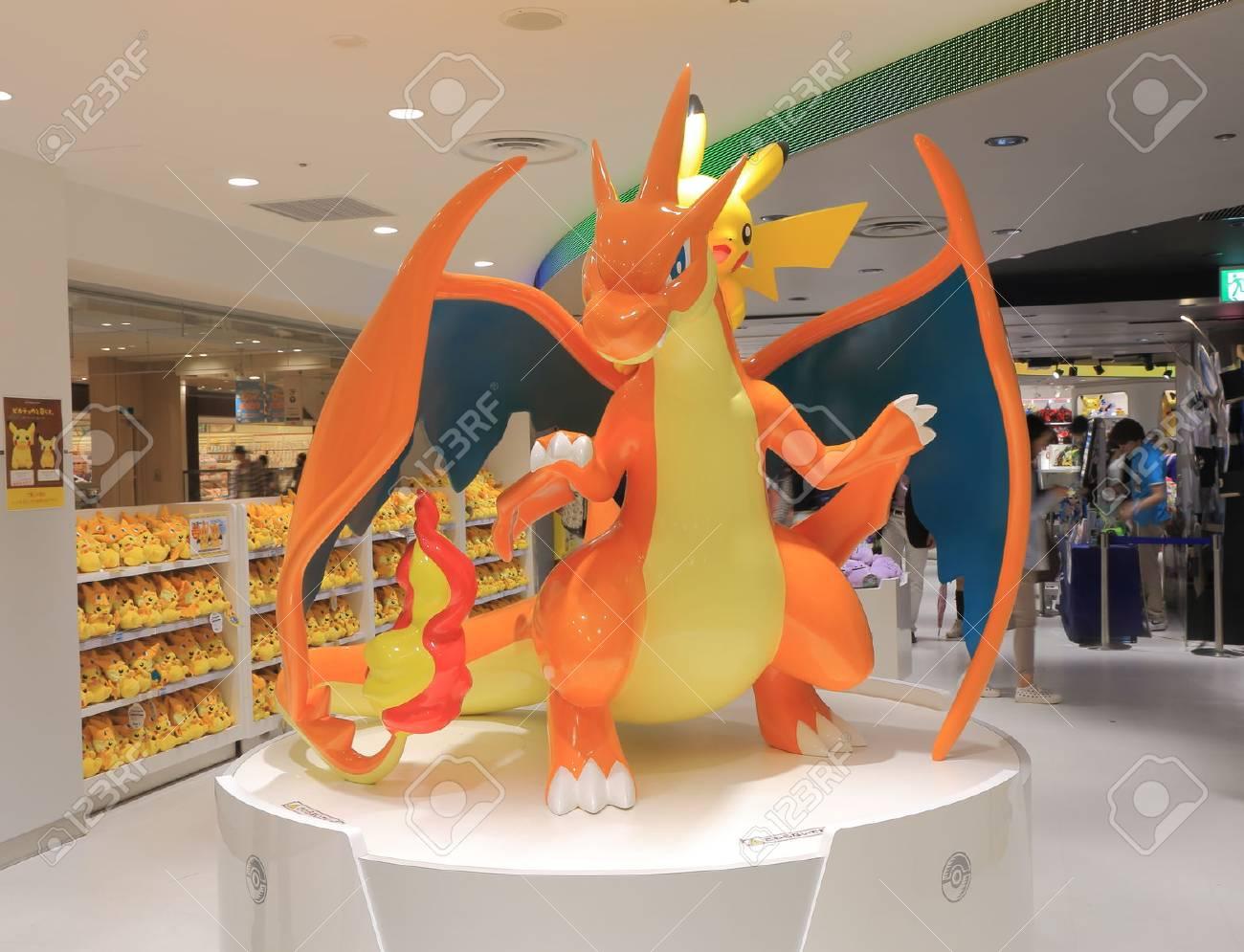 Tokyo Japan - May 9, 2015: People shop at Pokemon shop in Ikebukuro. - 41894136