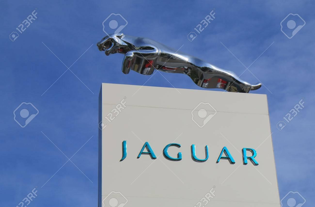 Melbourne Australia March 2 2016 Jaguar Car Manufacturer