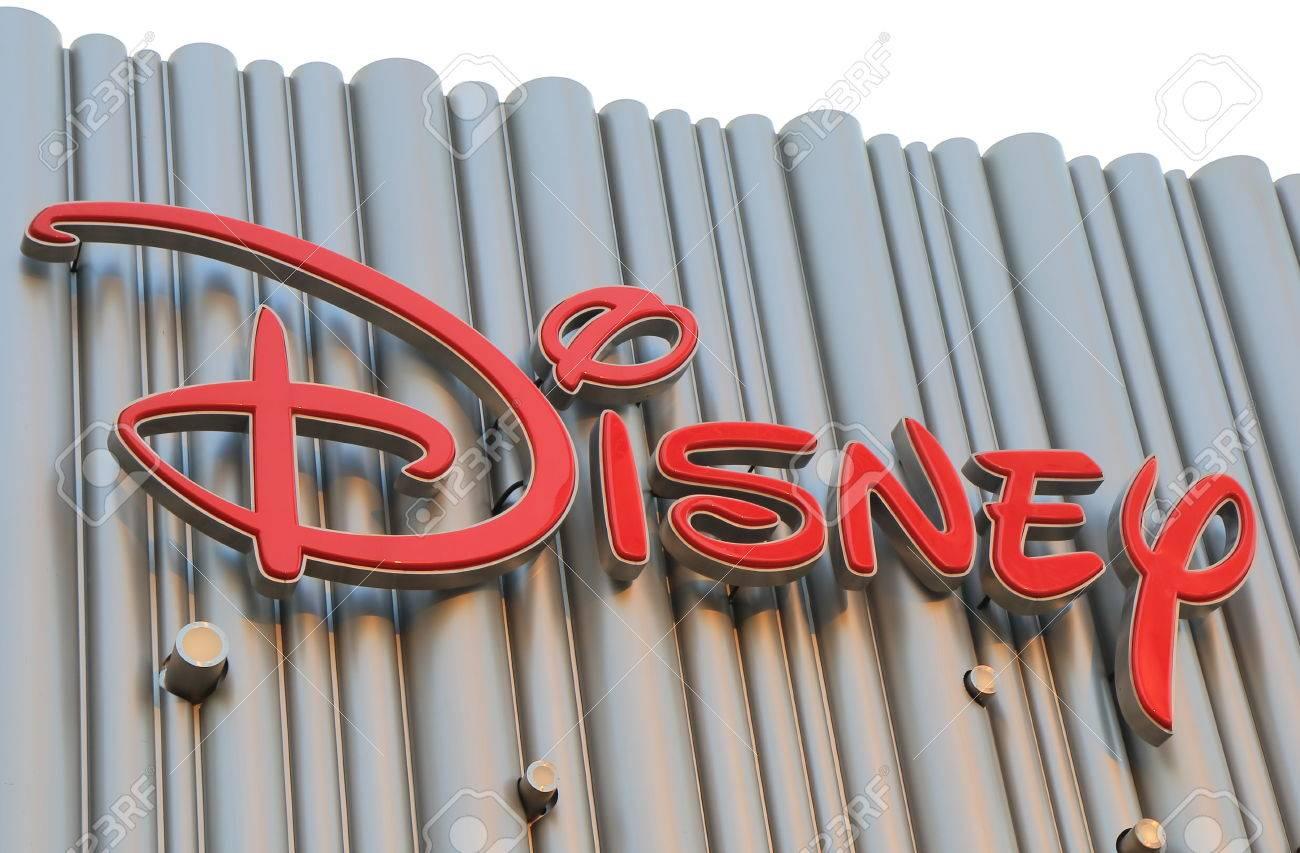 Shanghai China – November 2, 2016: Walt Disney sign - 73983754