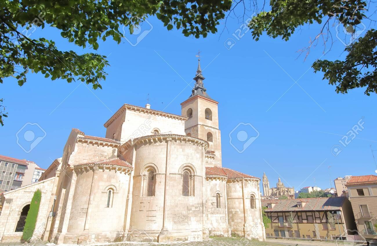 San Millan church Segovia Spain - 131432319