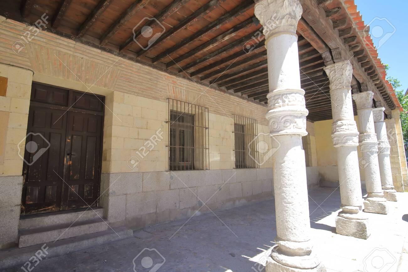 San Nicolas church old building Segovia Spain - 131432035