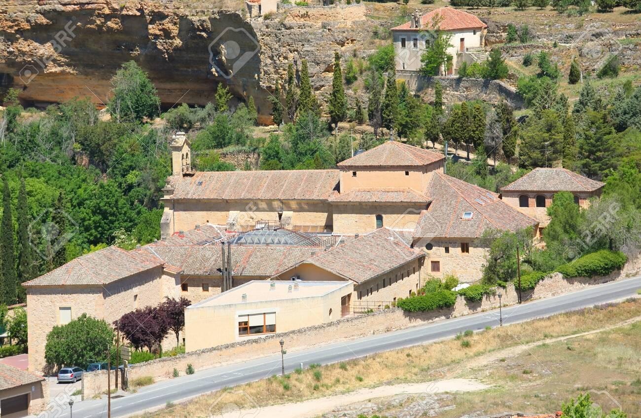San Juan Cruz de la convent old building Segovia Spain - 131432129