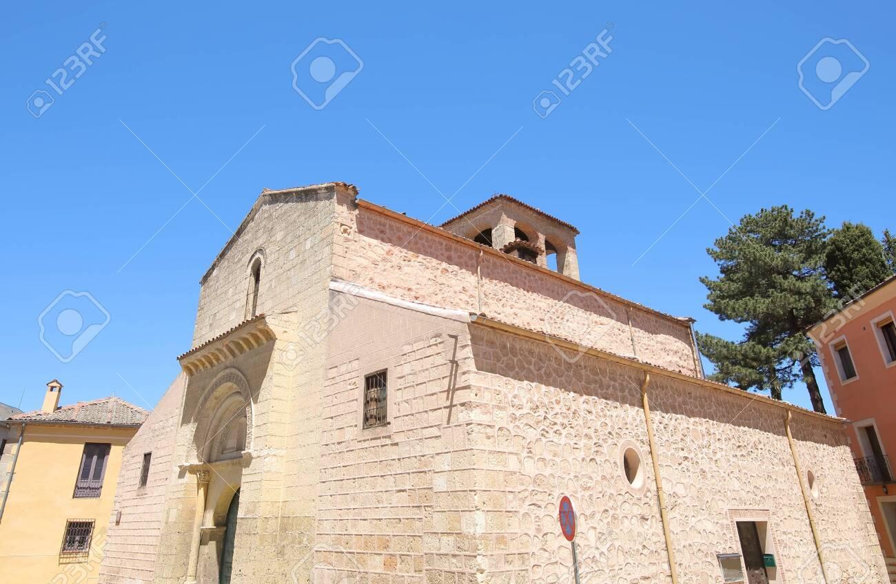 San Sebastian church old building Segovia Spain - 131432224
