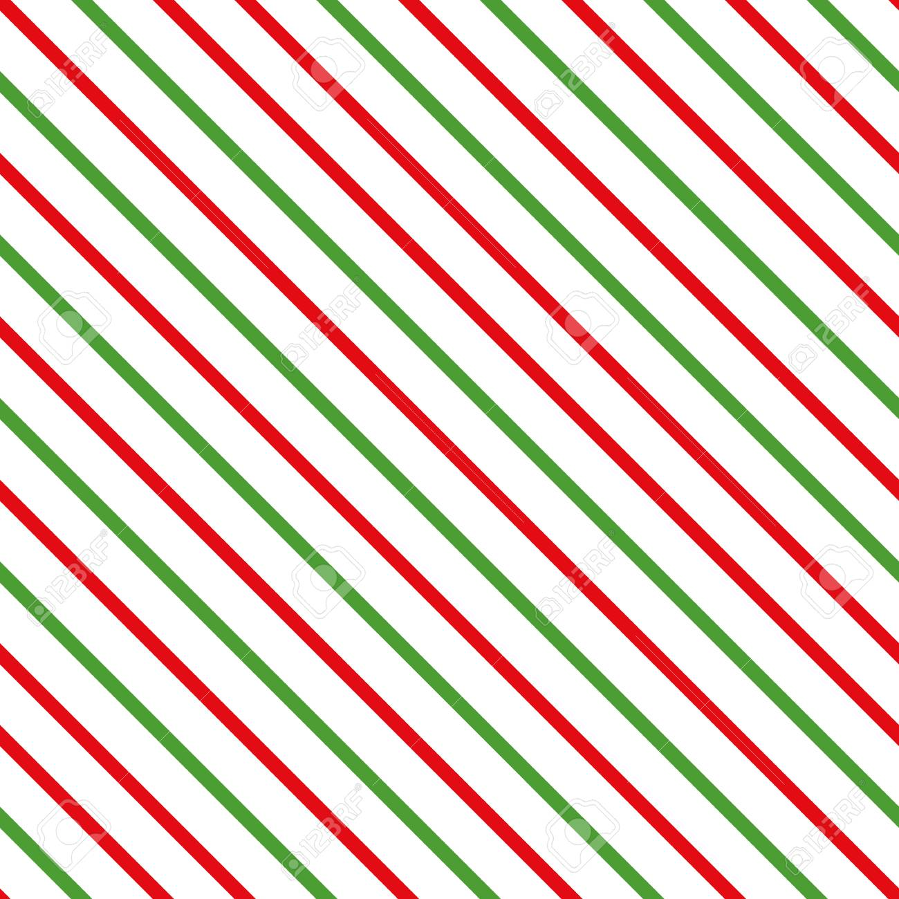 Abstract Diagonal Traditional Merry Christmas Background Seamless