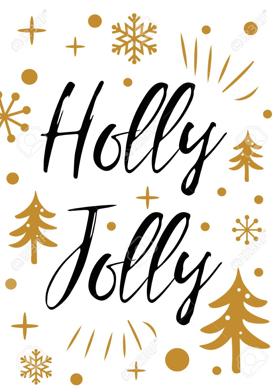 vector vector black gold and white new year and merry christmas gift tag with snowflakes and inspirational quote cute winter holiday cards posters flyers