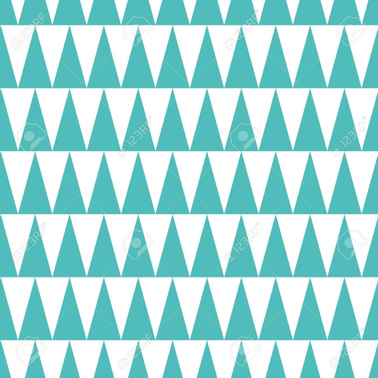 90aee8071303 Patrón de moda transparente hecha en color turquesa y blanco. Plantilla  geométrica Fondo de aguamarina hecha de triángulo. Diseño azul Textura ...