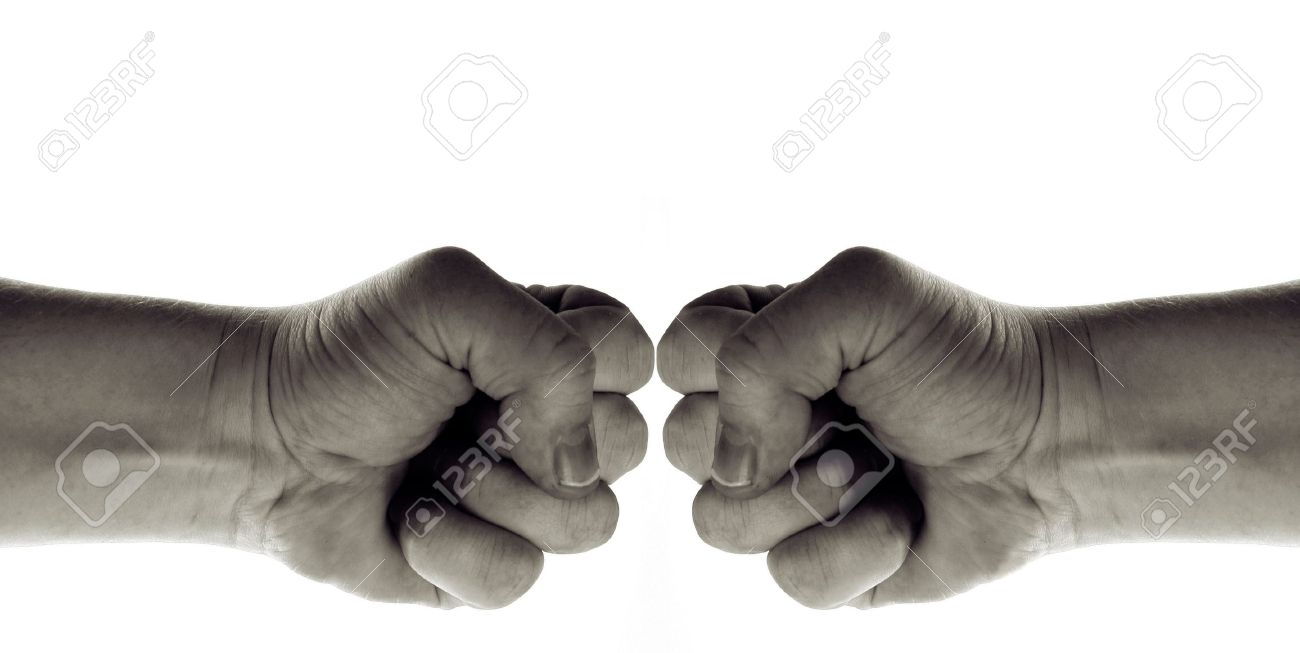 Fist isolated on white hand sign of war power and conflict stock fist isolated on white hand sign of war power and conflict but also symbol biocorpaavc Images