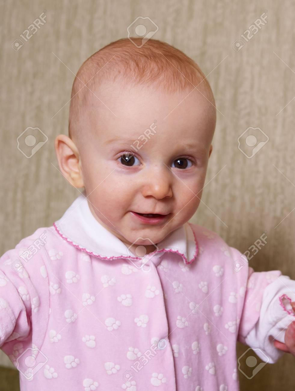 Portrait of the cheerful kid Stock Photo - 4908955