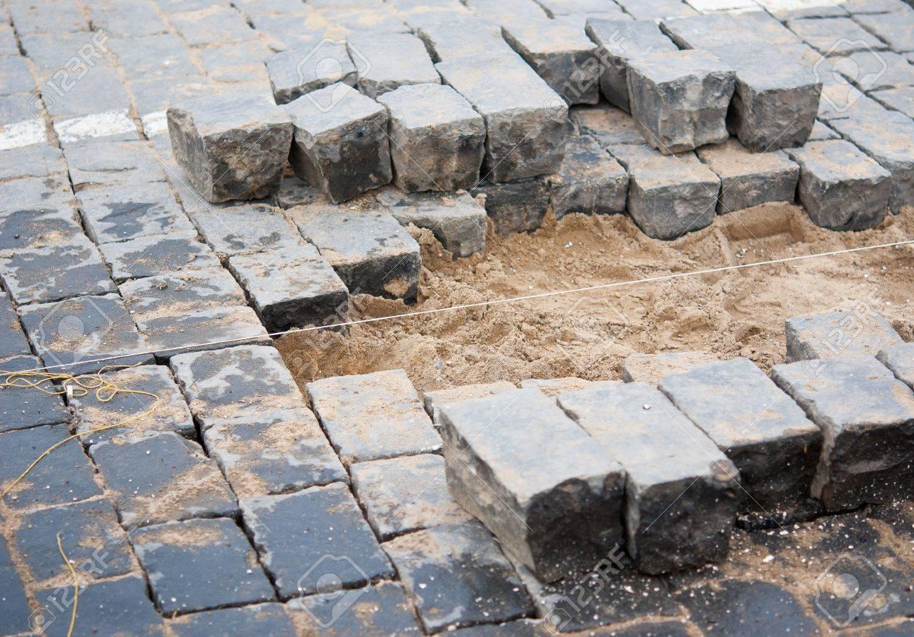 pavement repairs Stock Photo - 11818206