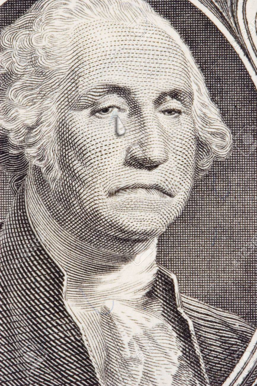 Image result for george washington tear