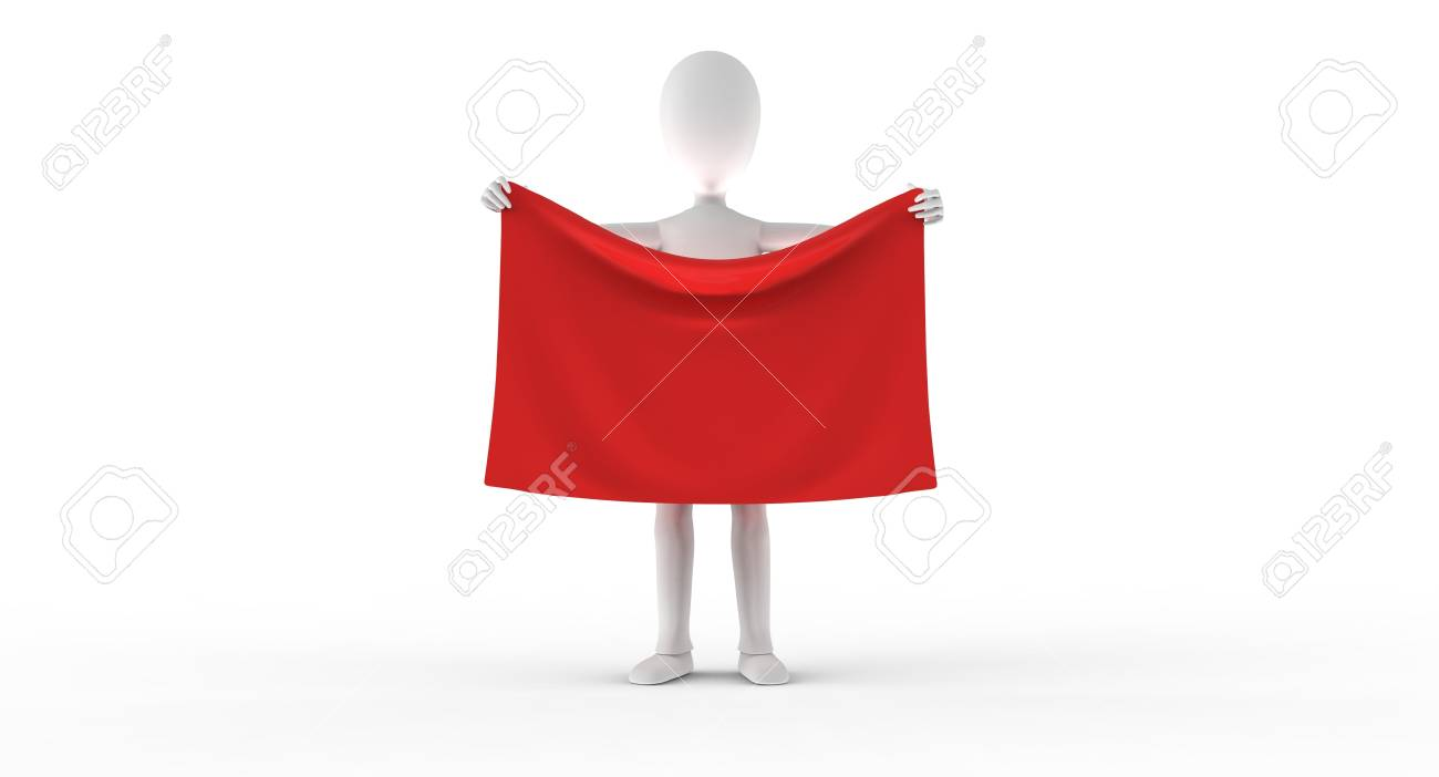 Have a look at this - fly your flag high Stock Photo - 17572712